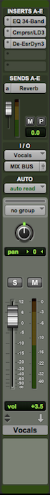 The importance of using trim plugins to avoid clipping the mix bus: fader