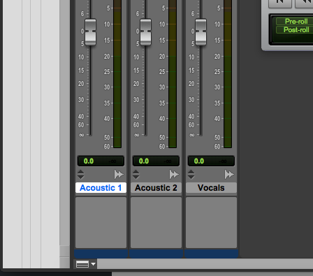 new track in Pro Tools First - rename tracks 1