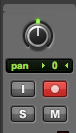 record audio in pro tools first - record enable
