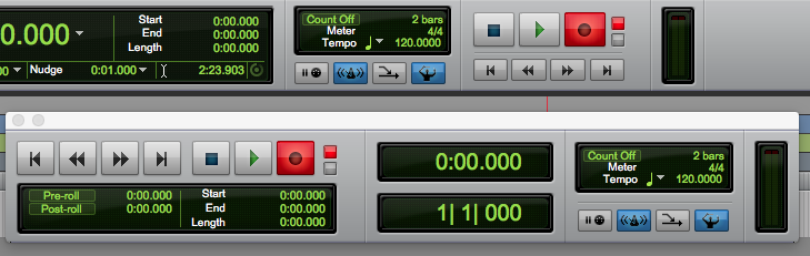 record audio in pro tools first - press record