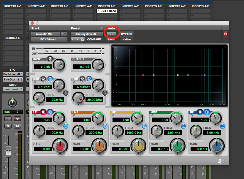 Automate Pro Tools First Plugins - plugin automation