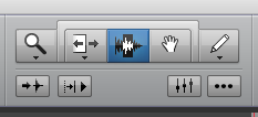 Pro Tools First Smart Tool - Select