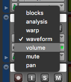 Pro Tools First Volume Automation - volume