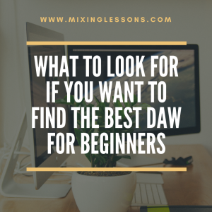 best DAW for beginners