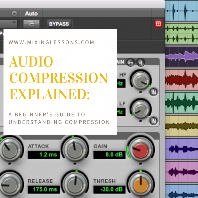Audio Compression Explained A beginner's guide to understanding compression