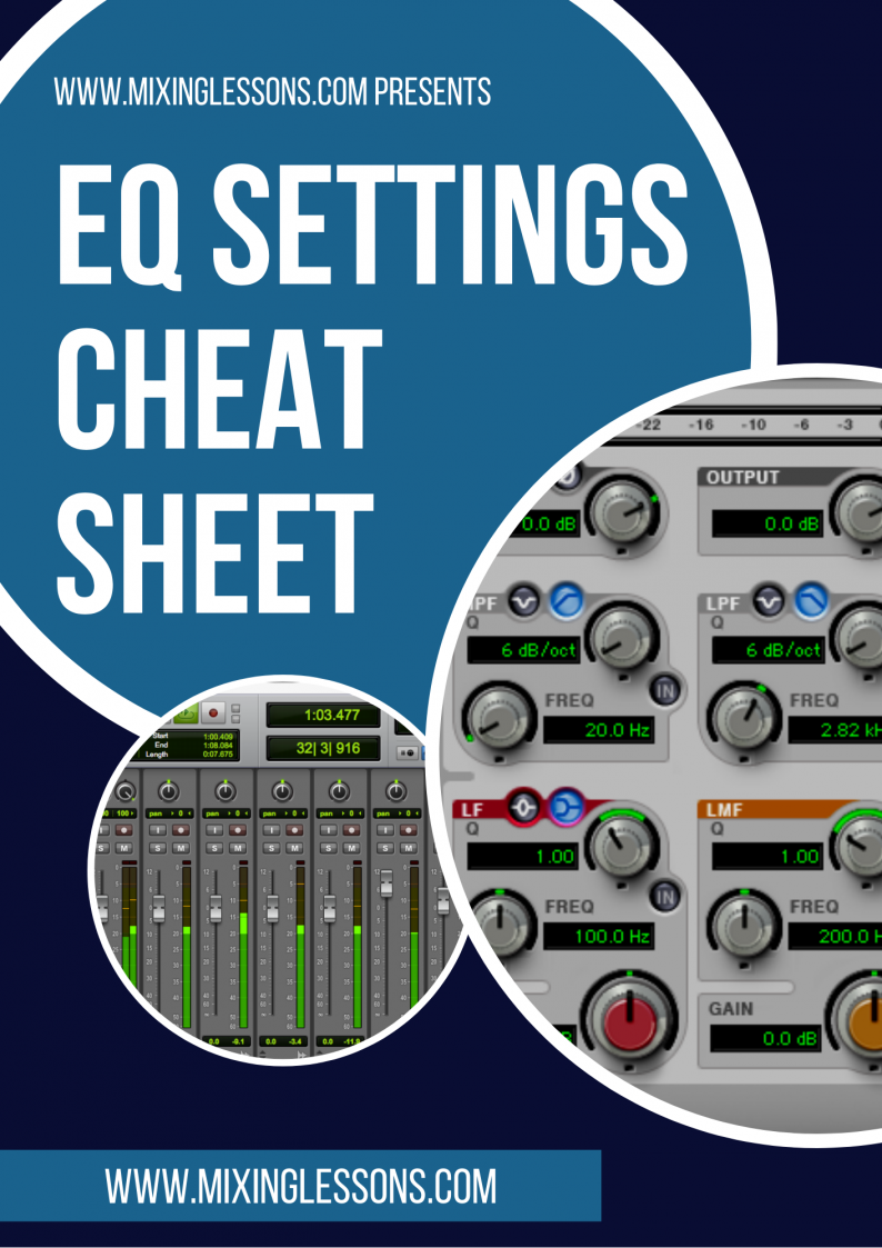 EQ Settings Cheat Sheet