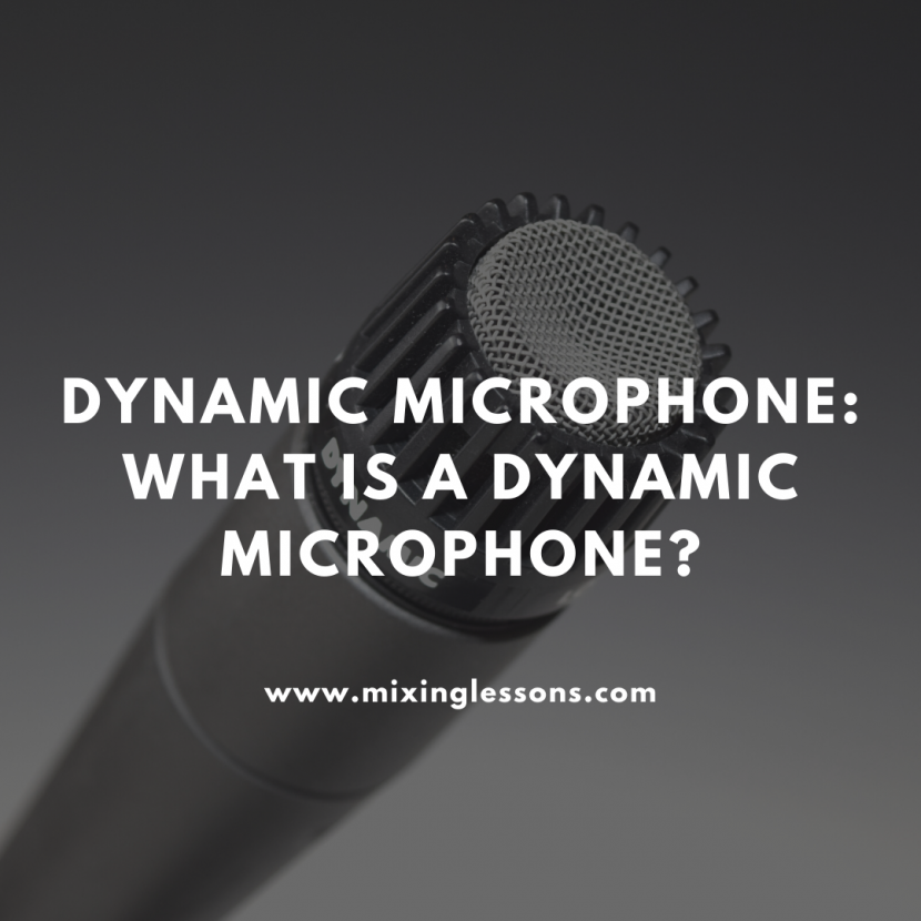 Dynamic Microphone: what is a dynamic microphone?